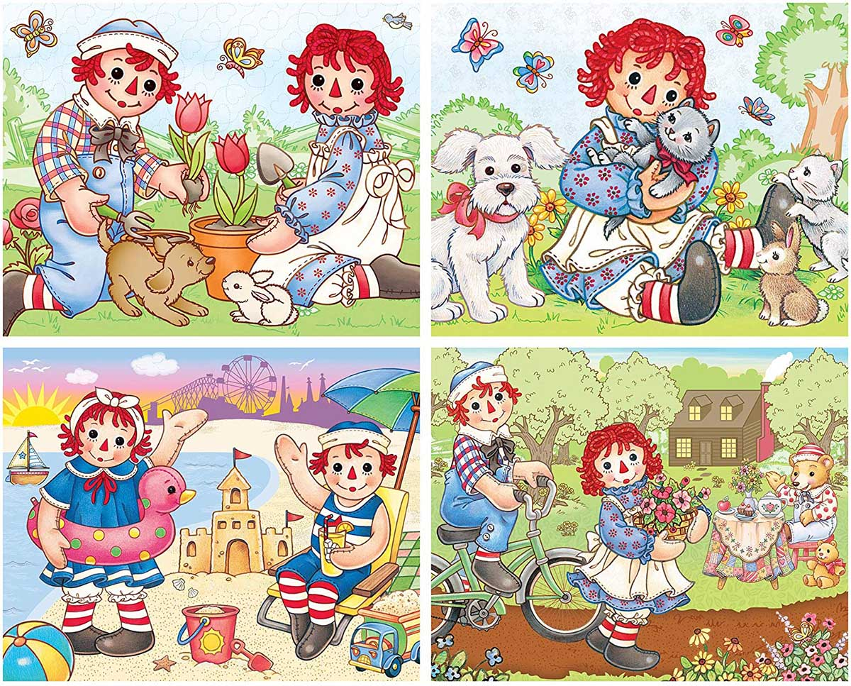 Raggedy Ann & Andy Nostalgic / Retro Jigsaw Puzzle