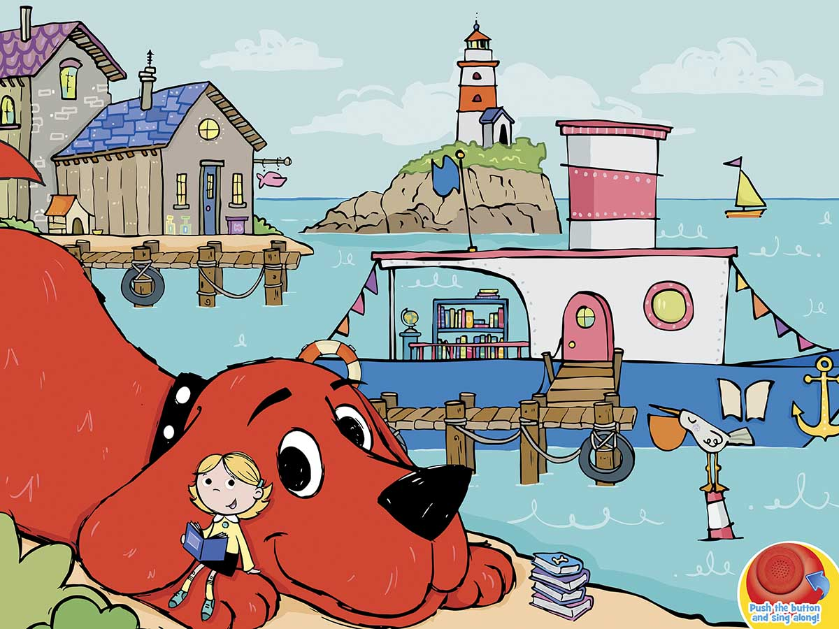 Clifford Sound Puzzle Dogs Jigsaw Puzzle