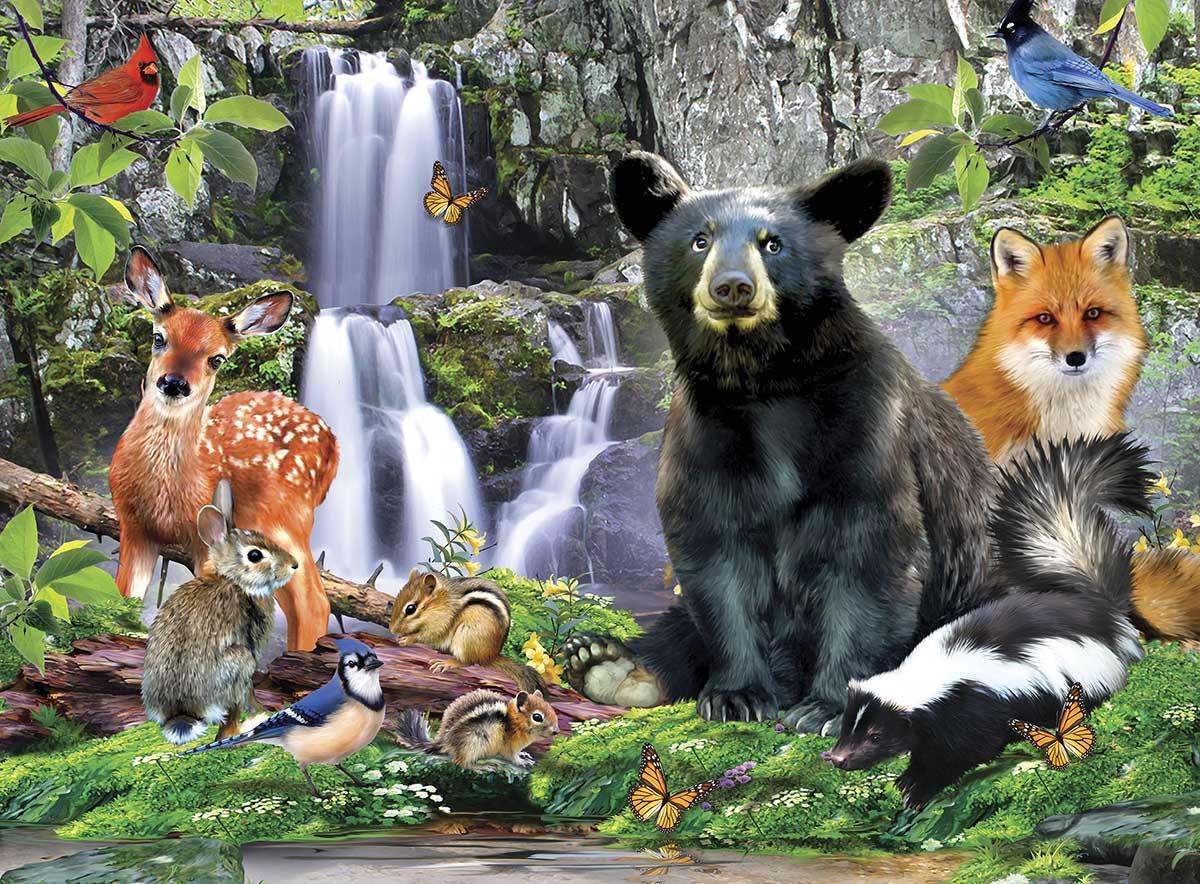 Shenandoah National Park Animals Jigsaw Puzzle