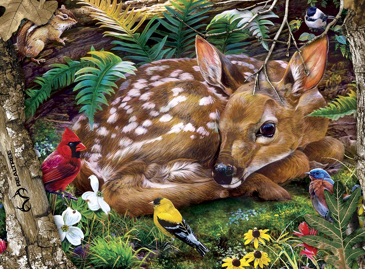Real Tree Animals Jigsaw Puzzle