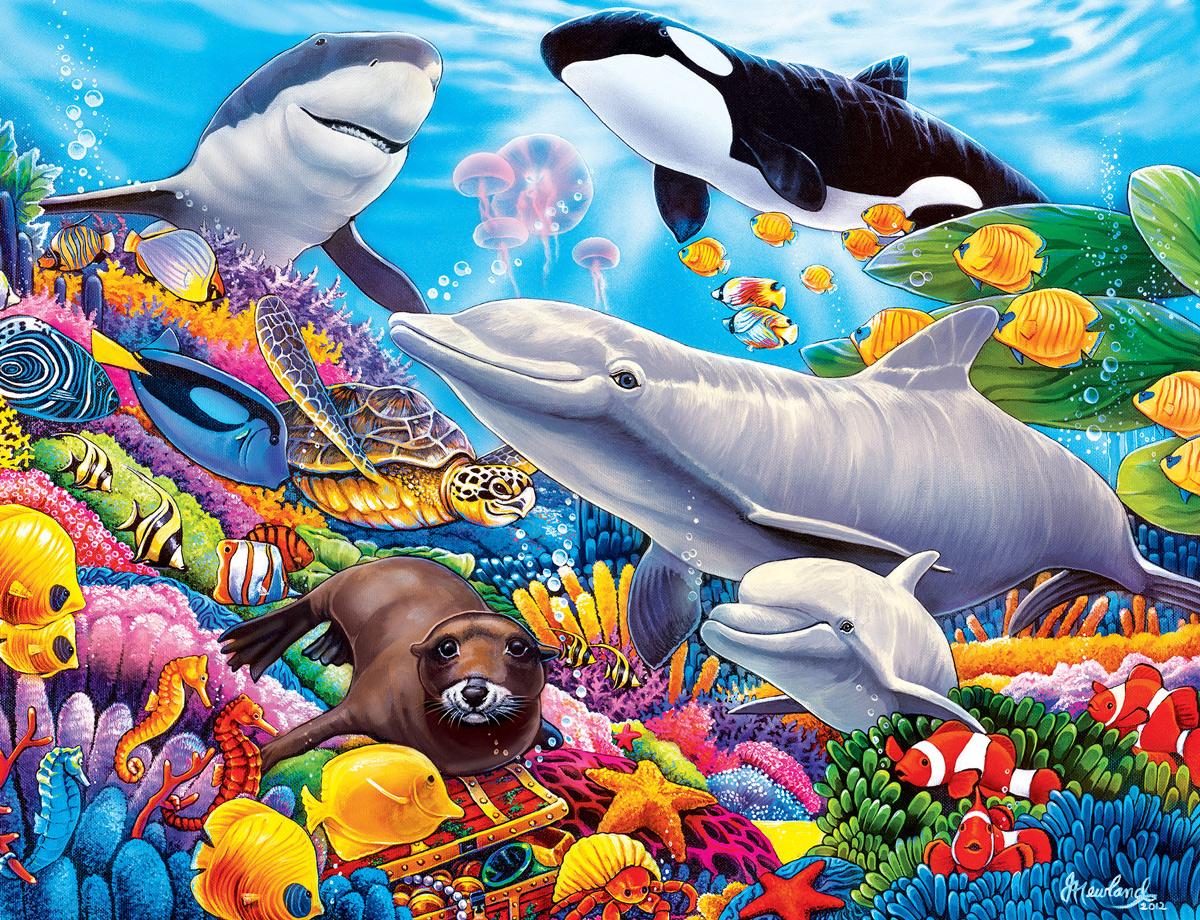 Undersea Friends Under The Sea Jigsaw Puzzle