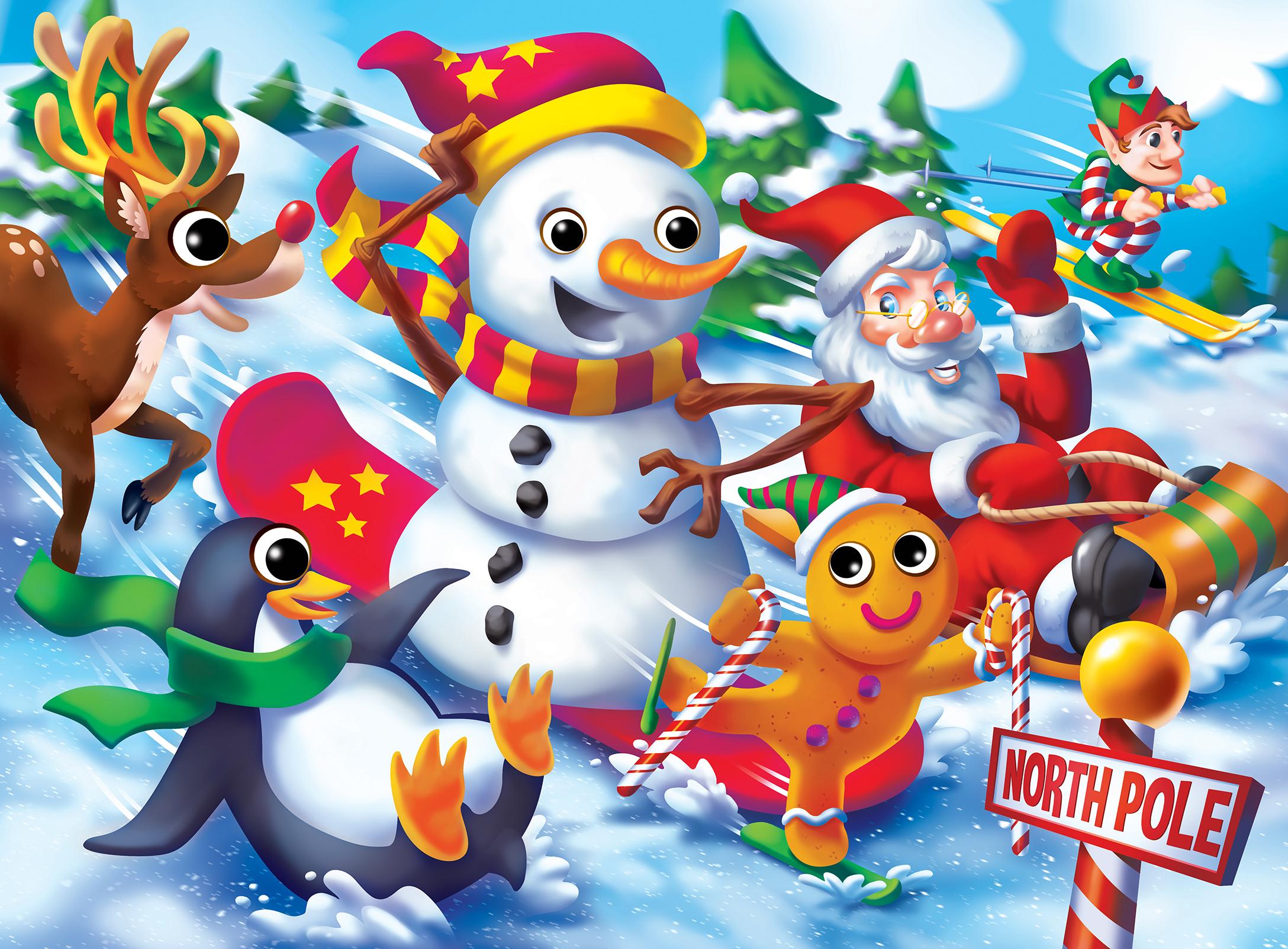 Christmas Christmas Jigsaw Puzzle