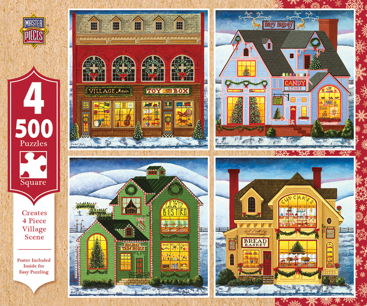 Holiday 4-Pack - Scratch and Dent Christmas Jigsaw Puzzle