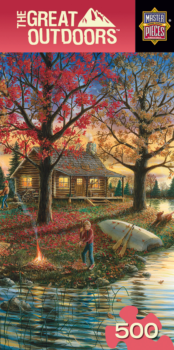 Autumn Sunset - Scratch and Dent Countryside Jigsaw Puzzle
