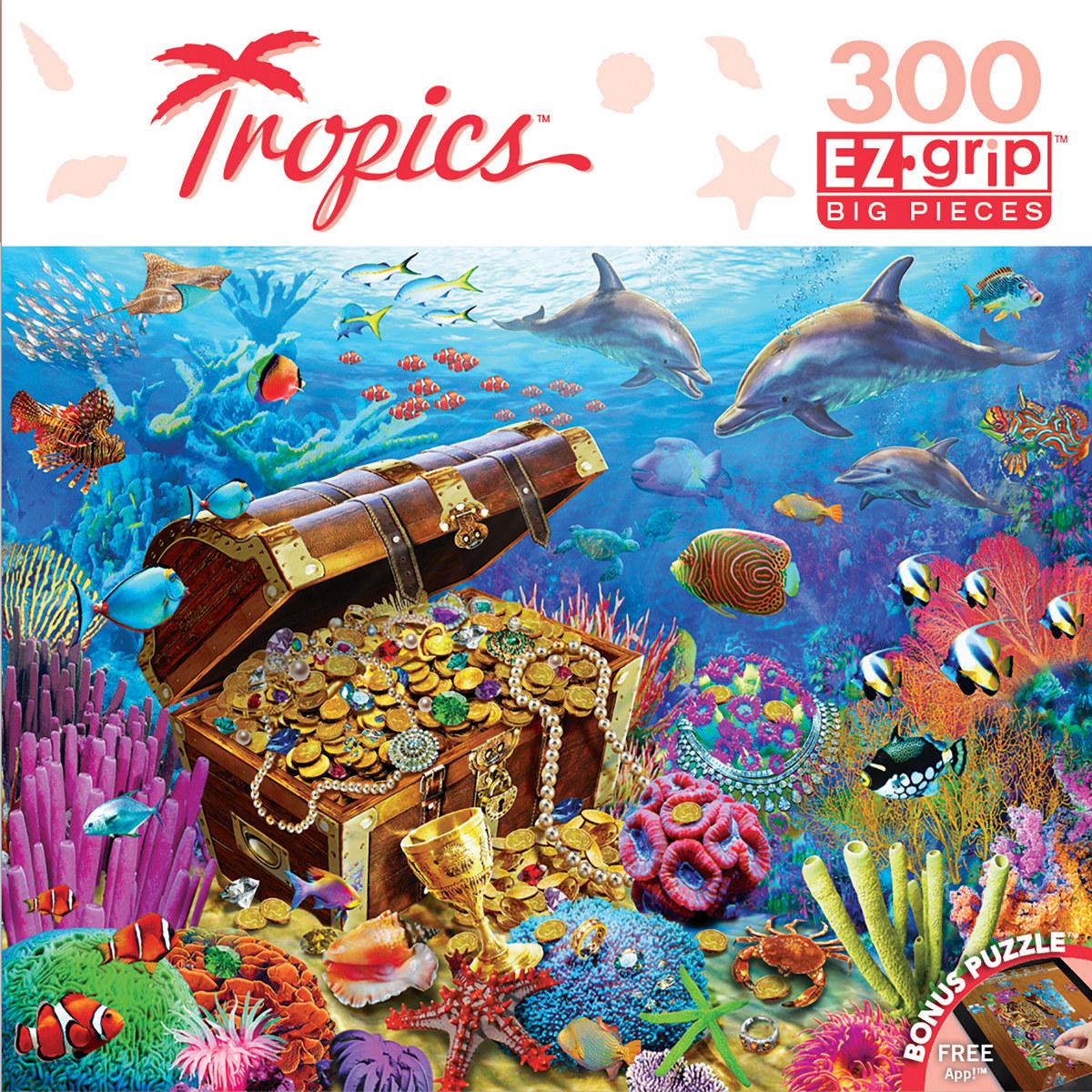 Lost Treasures Under The Sea Jigsaw Puzzle
