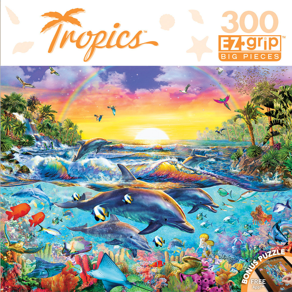 Sea of Eden Under The Sea Jigsaw Puzzle