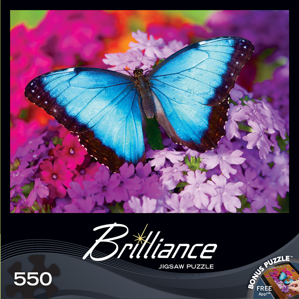 Iridescence Butterflies and Insects Jigsaw Puzzle