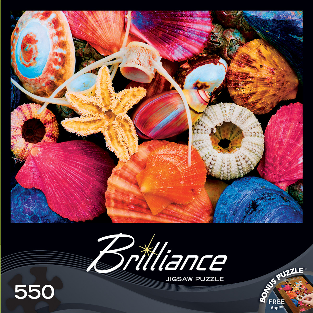 Tidal Treasures Under The Sea Jigsaw Puzzle