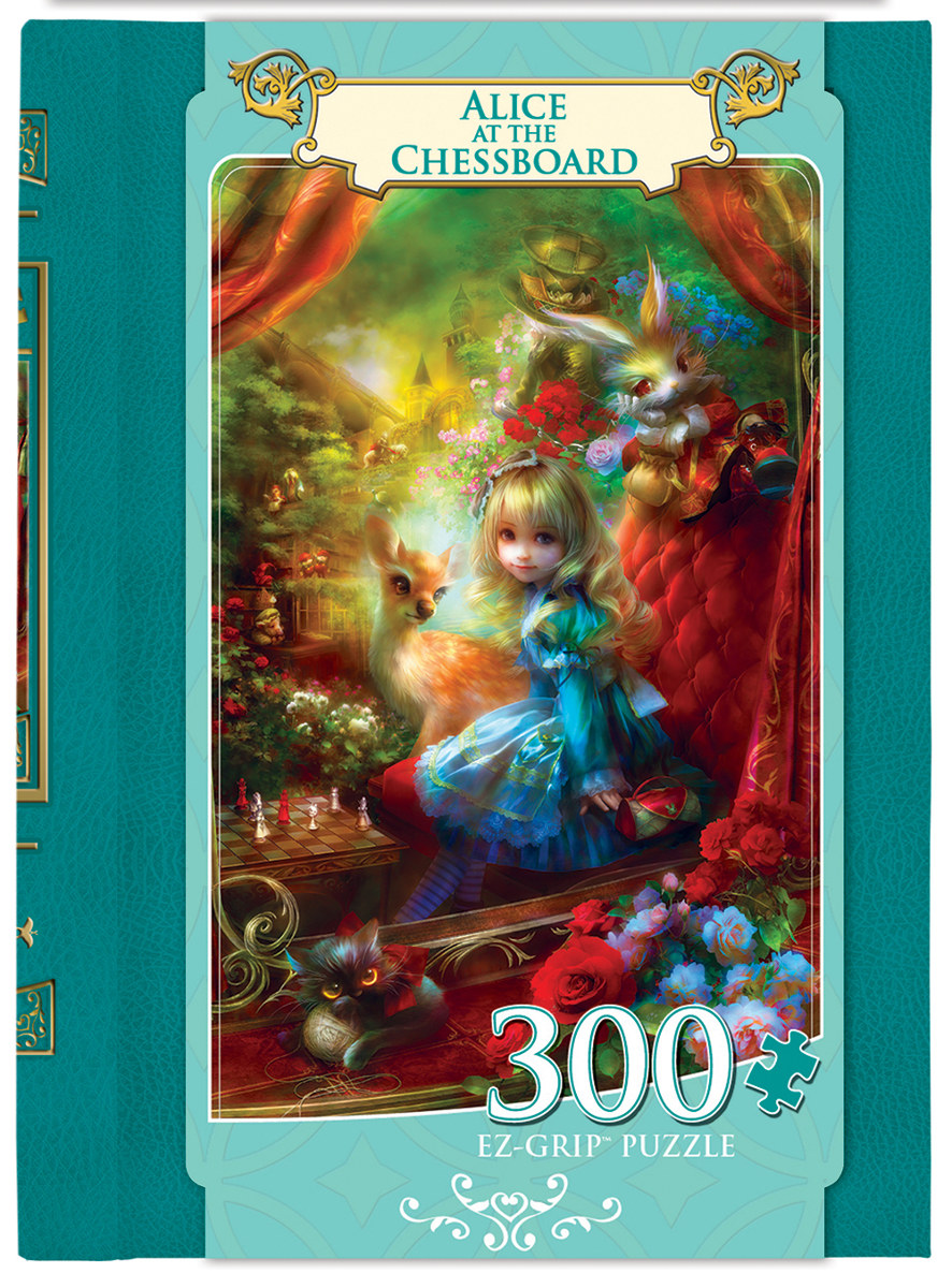 Alice at the Chessboard Movies / Books / TV Jigsaw Puzzle