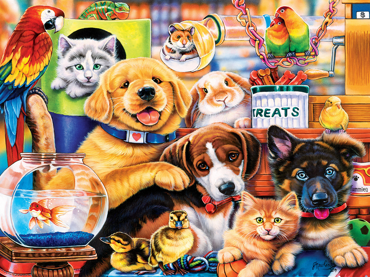 Home Wanted Cats Jigsaw Puzzle