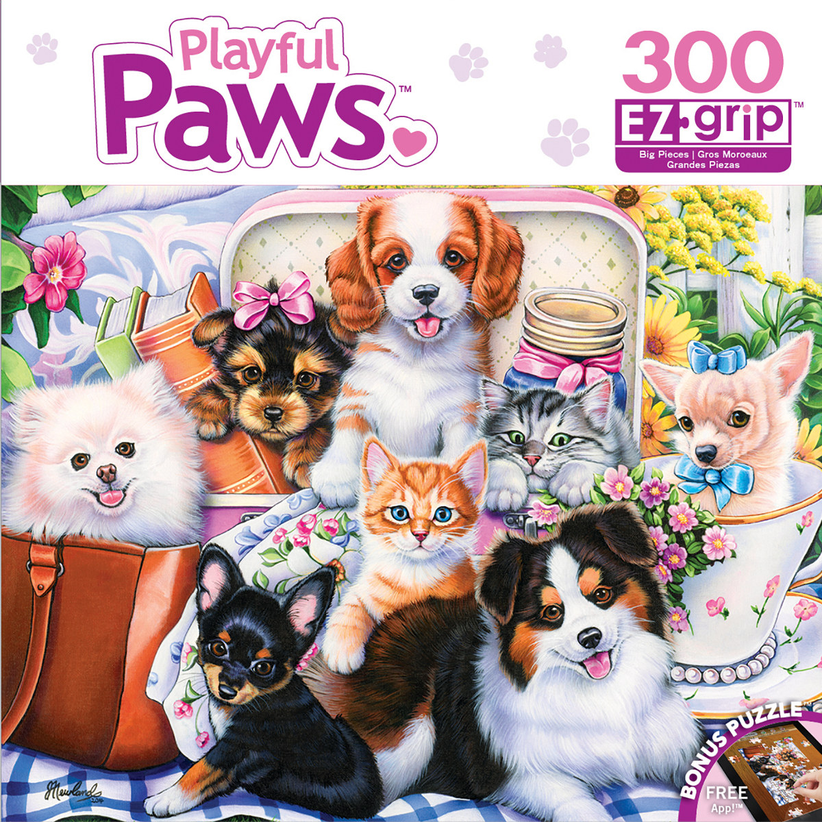 Fun Size (Playful Paws) - Scratch and Dent Everyday Objects Jigsaw Puzzle