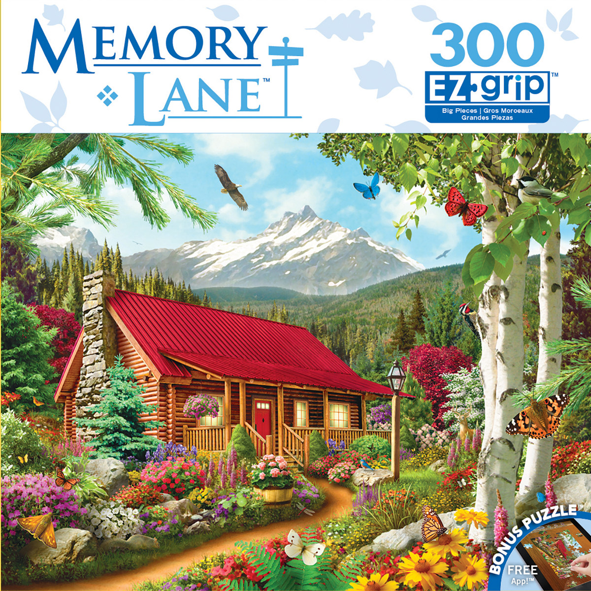 Mountain Hideaway Mountains Jigsaw Puzzle