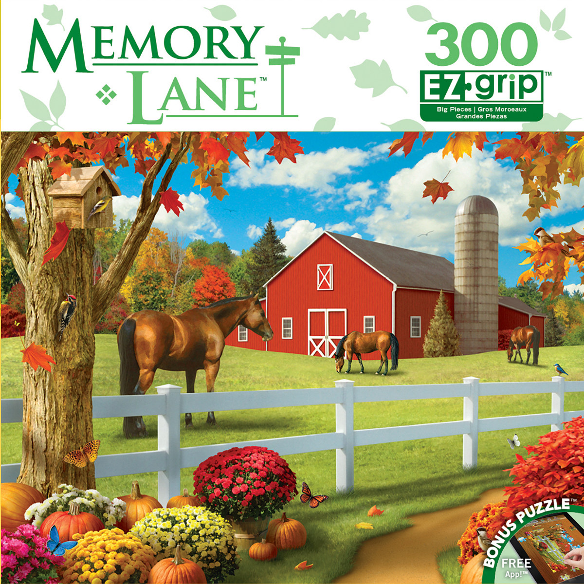 Rolling Pastures Farm Jigsaw Puzzle