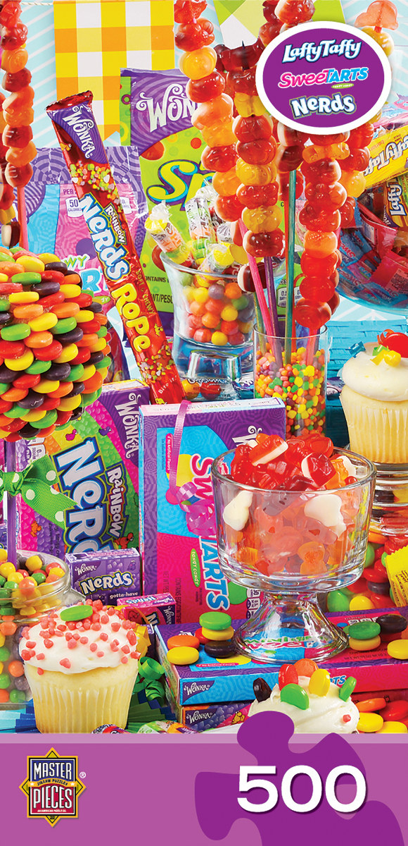 Sugar High Food and Drink Jigsaw Puzzle