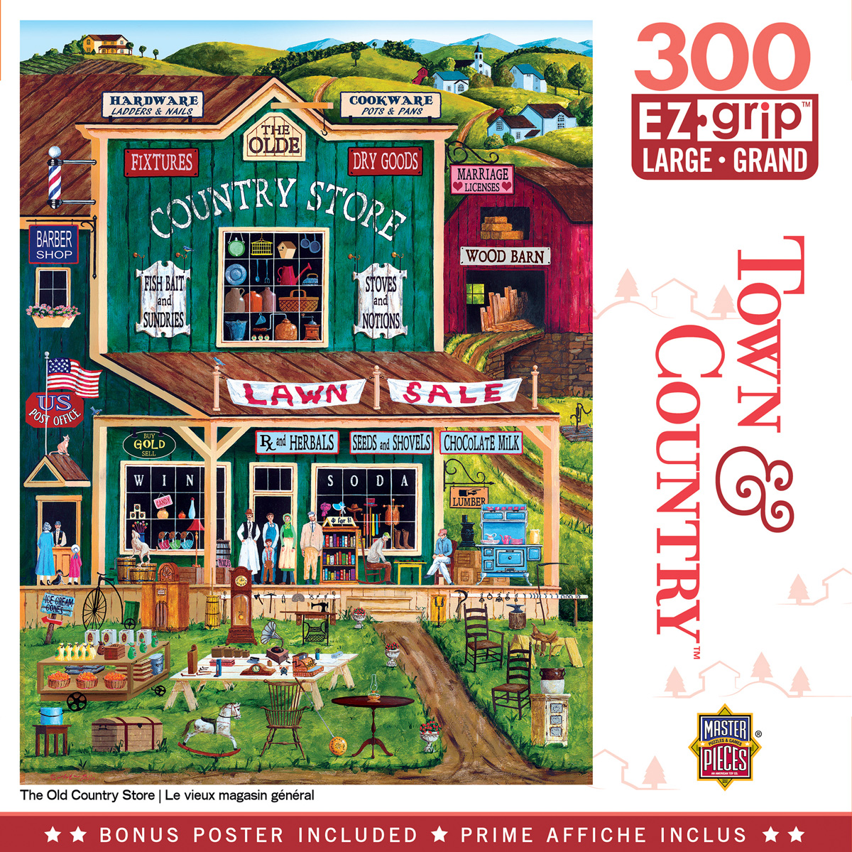 The Old Country Store Americana & Folk Art Jigsaw Puzzle