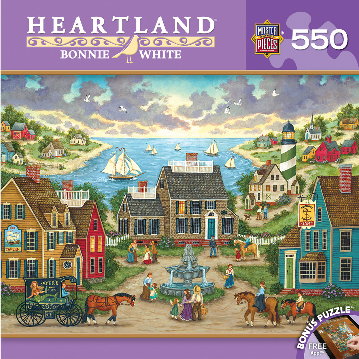 Mermaid S Watch Heartland Jigsaw Puzzle