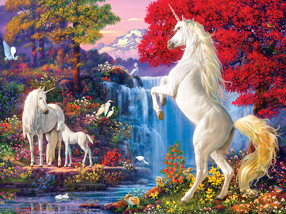 Dream World Fantasy Jigsaw Puzzle