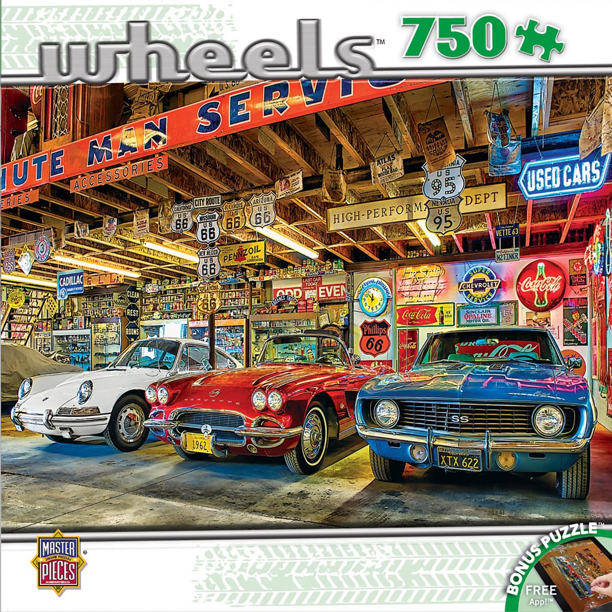 Triple Threat Cars Jigsaw Puzzle