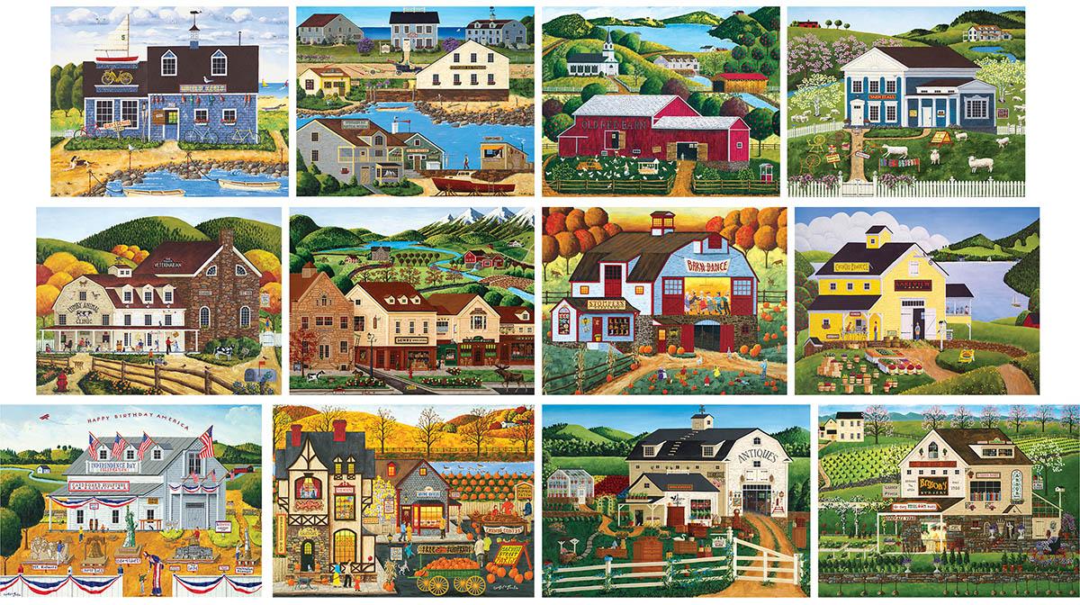 Poulin Bundle 12 Pack - Scratch and Dent Farm Jigsaw Puzzle