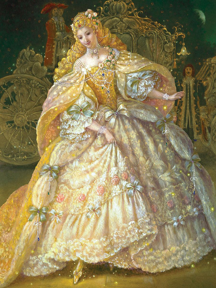 Cinderella at the Ball Princess Jigsaw Puzzle