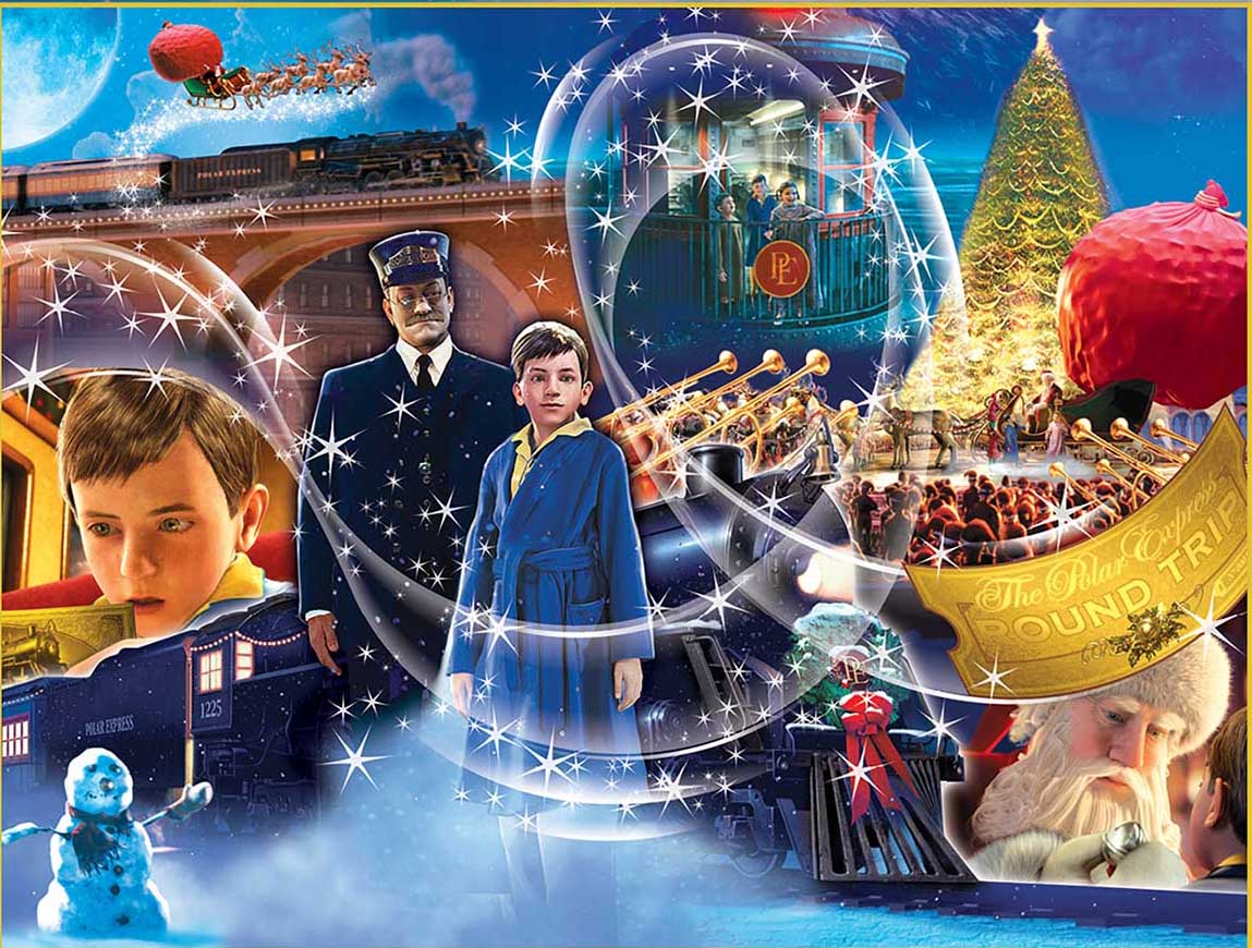 The Polar Express Trains Jigsaw Puzzle