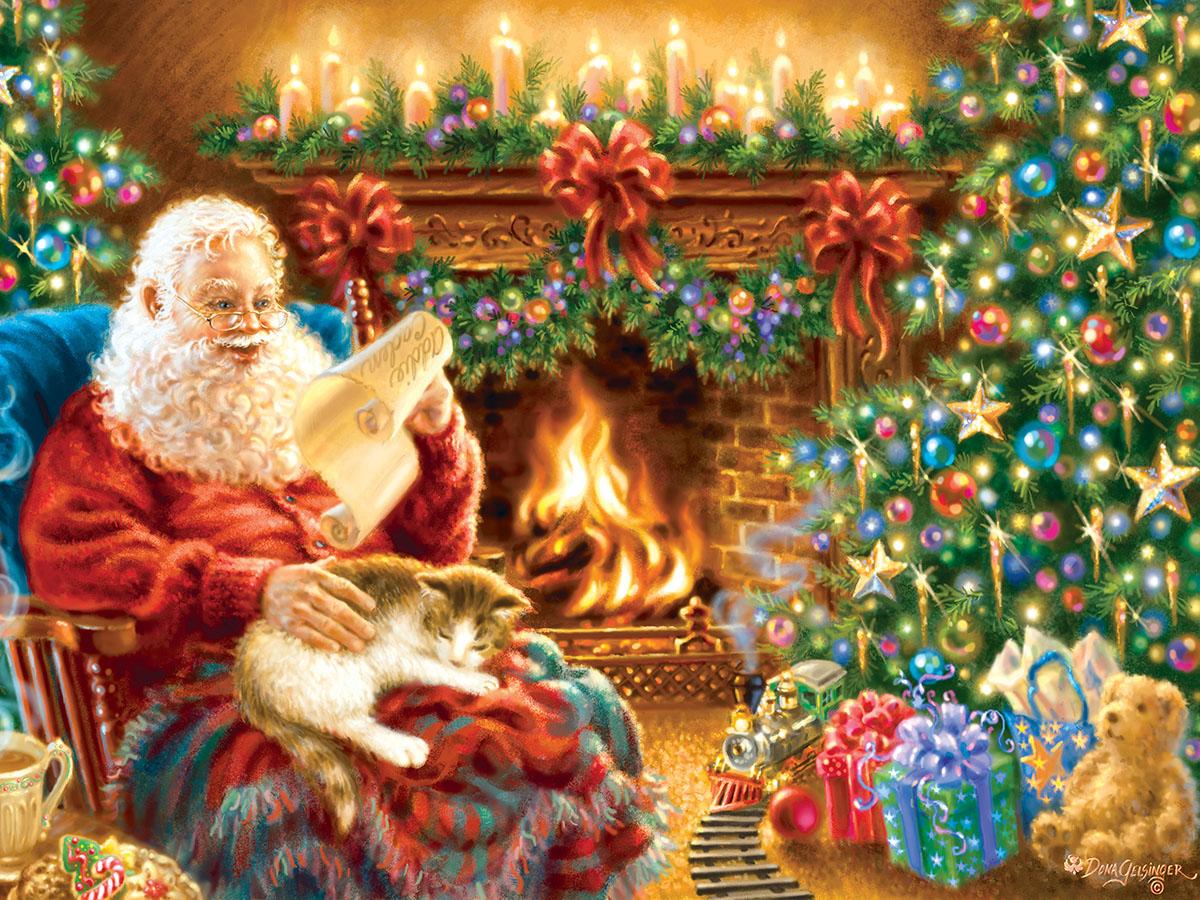 Christmas Dreams Jigsaw Puzzle