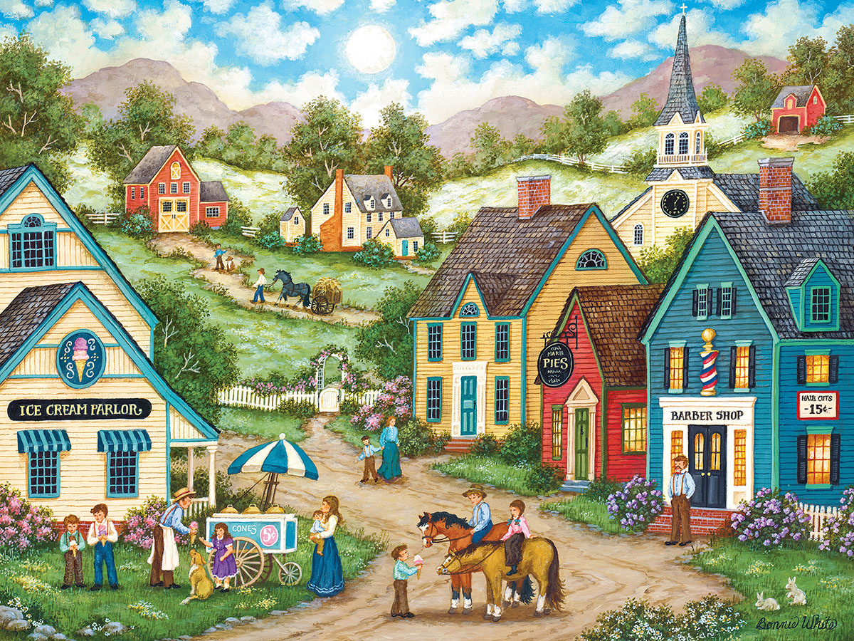 Double Dip - Scratch and Dent Americana & Folk Art Jigsaw Puzzle