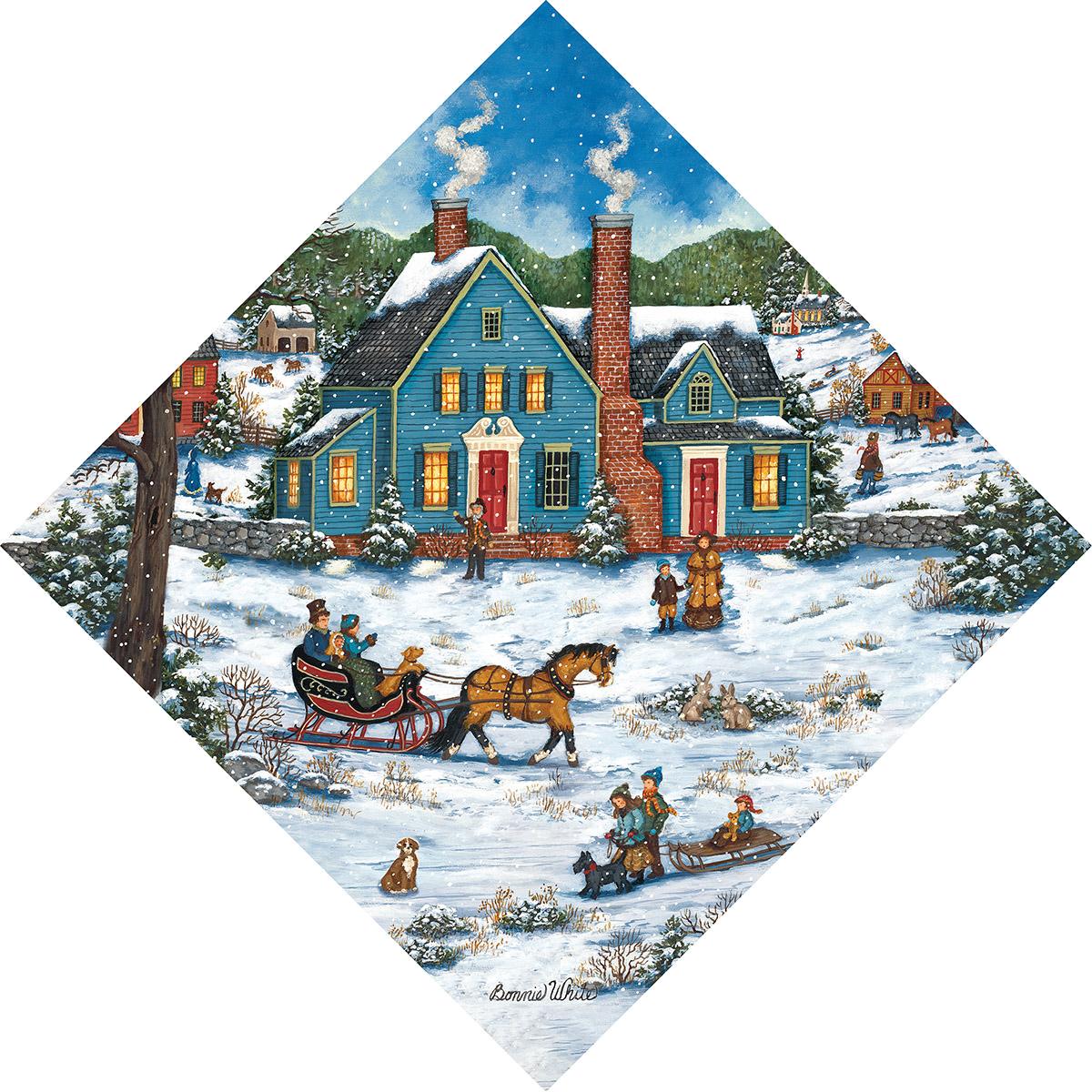 Heading Home Shaped Puzzle Puzzlewarehouse Com