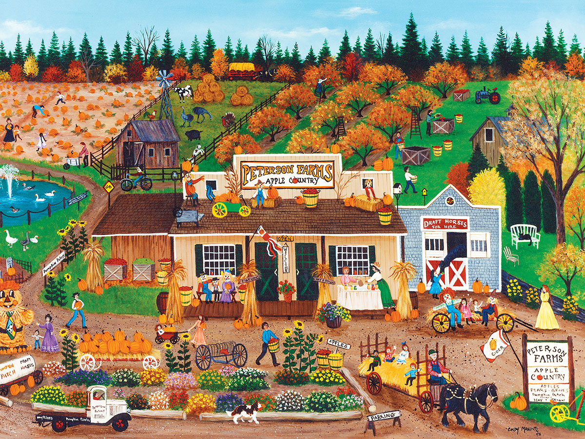 Peterson Farms (Homegrown) Farm Jigsaw Puzzle