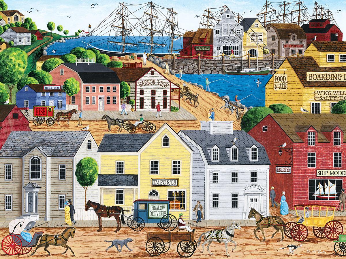Home Port Nostalgic / Retro Jigsaw Puzzle