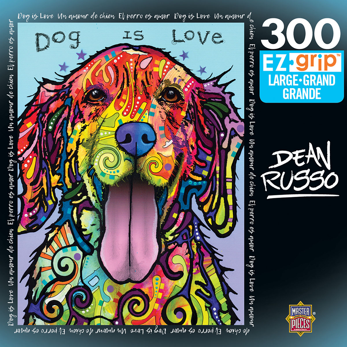 Dog is Love Dogs Jigsaw Puzzle