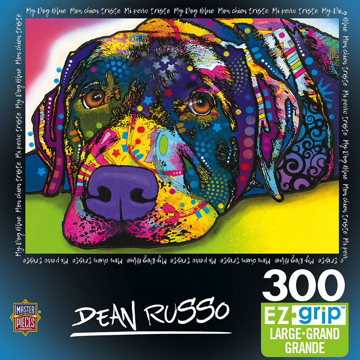 My Dog Blue - Scratch and Dent Dogs Jigsaw Puzzle