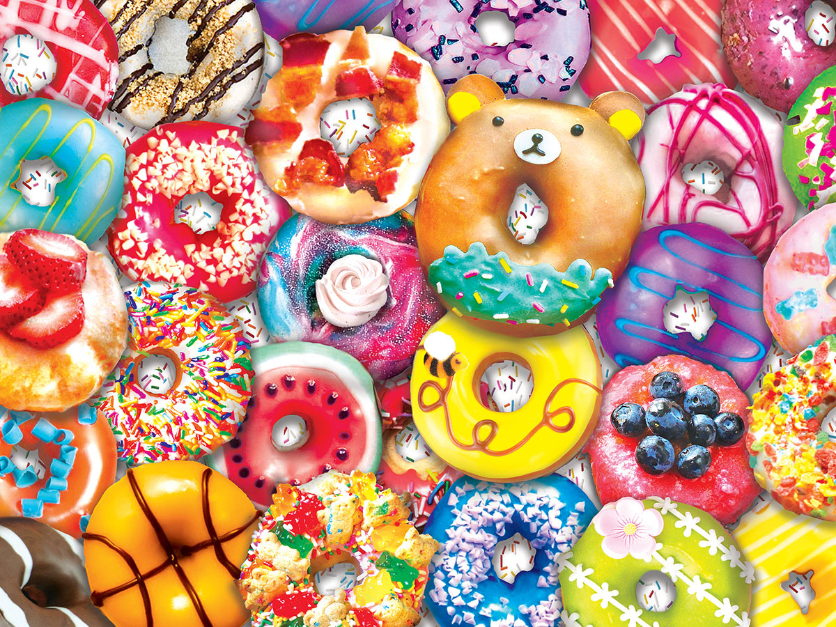 Donut Resist Sweets Jigsaw Puzzle
