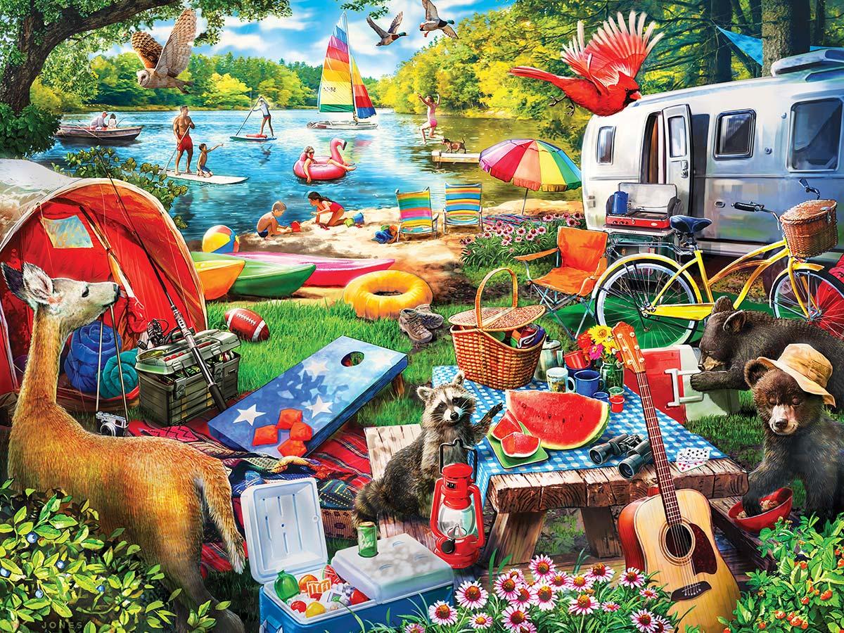 Little Rascals Wildlife Jigsaw Puzzle