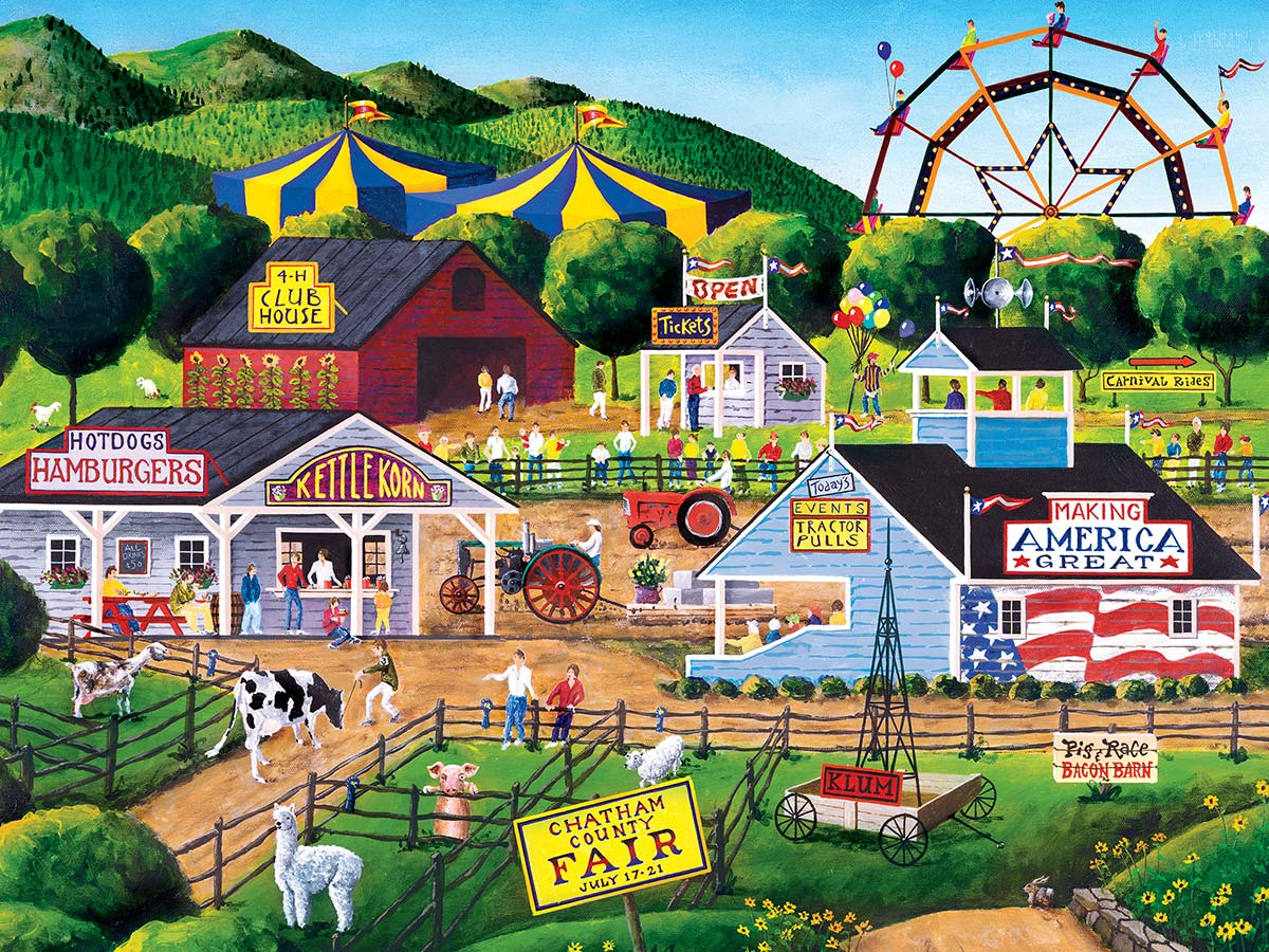 Summer Carnival Summer Jigsaw Puzzle