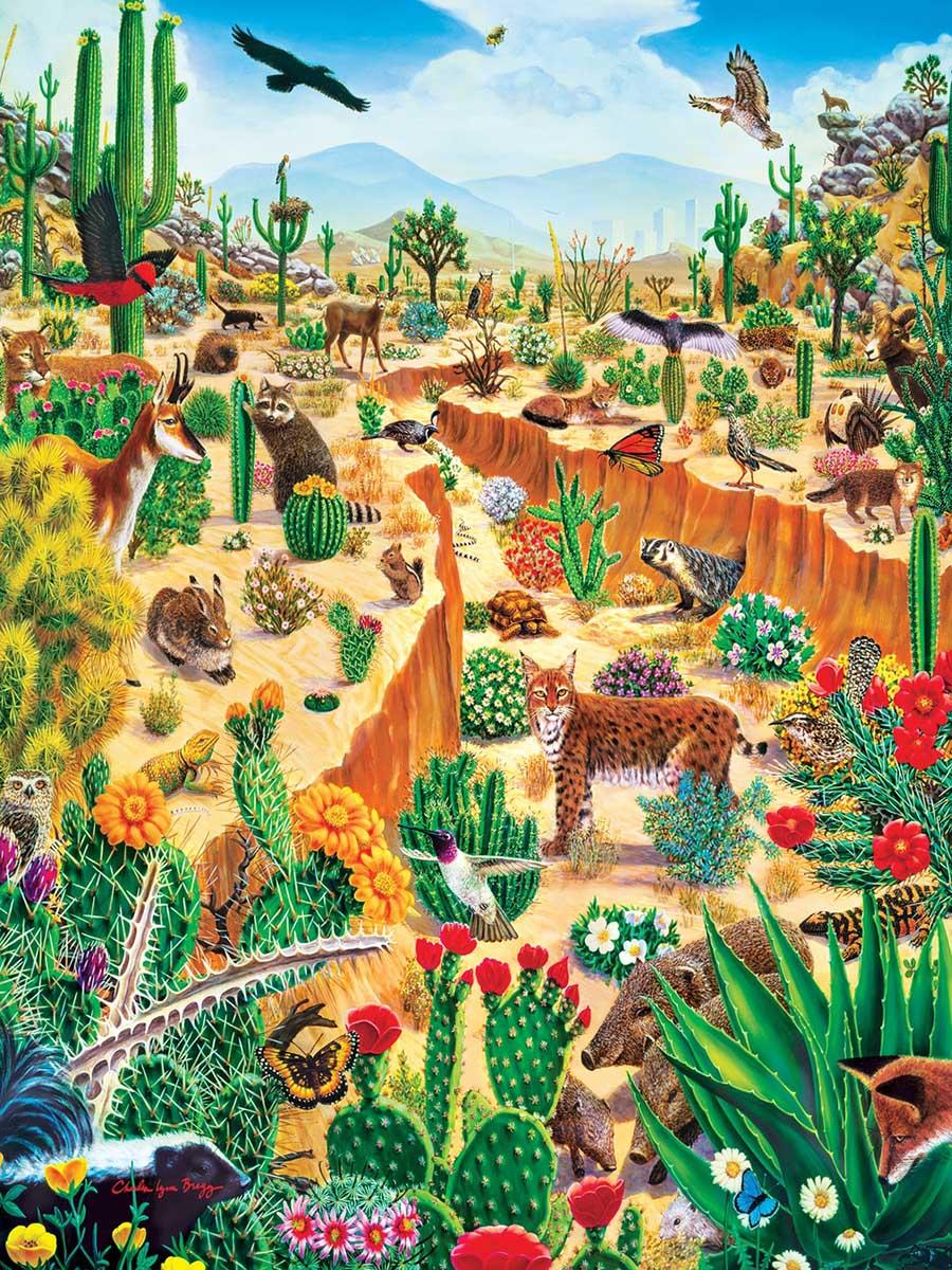 Last Oasis Wildlife Jigsaw Puzzle