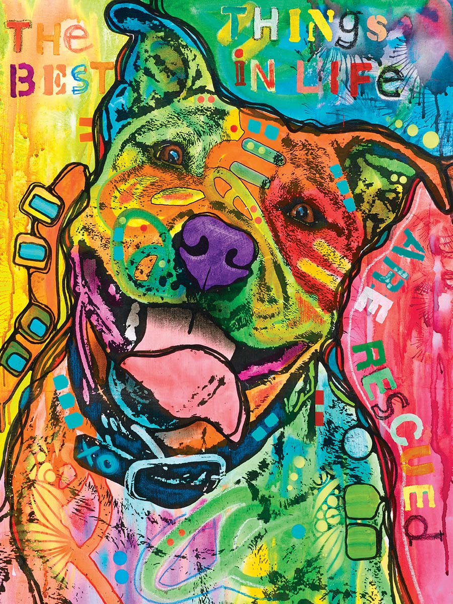 The Best Things in Life Dogs Jigsaw Puzzle