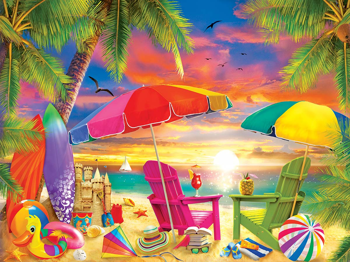 Seaside Afternoon Travel Jigsaw Puzzle