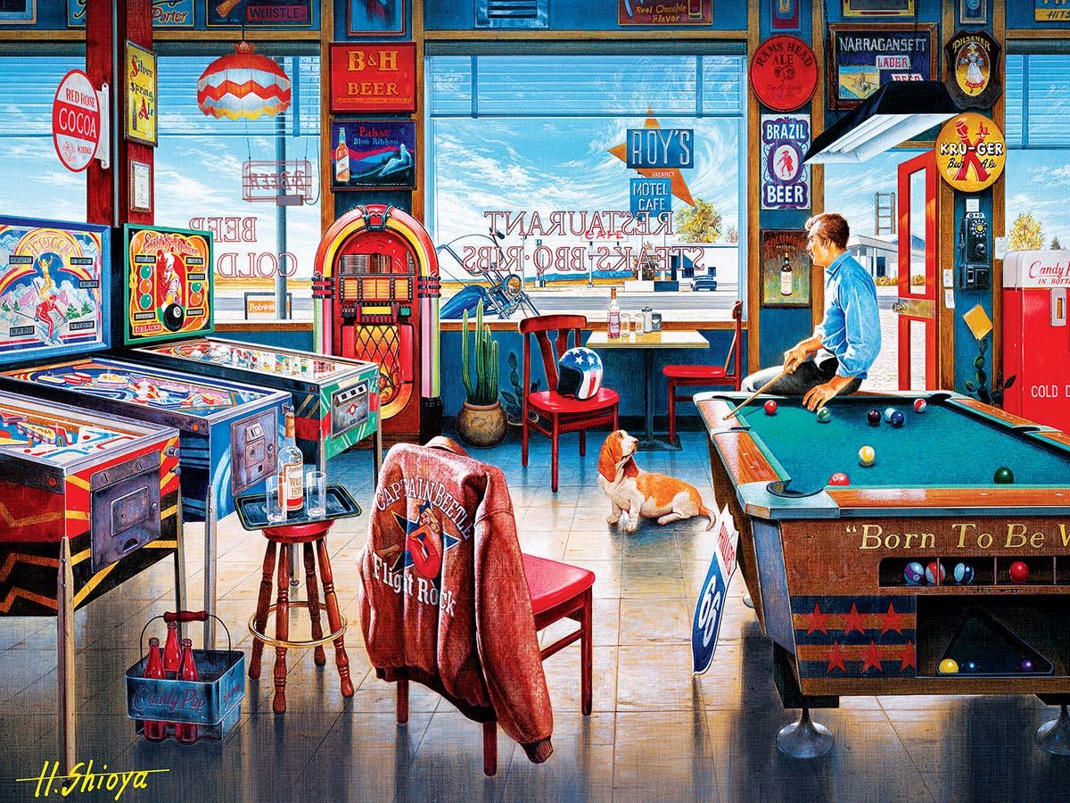 Pockets Pool & Pub Nostalgic / Retro Jigsaw Puzzle