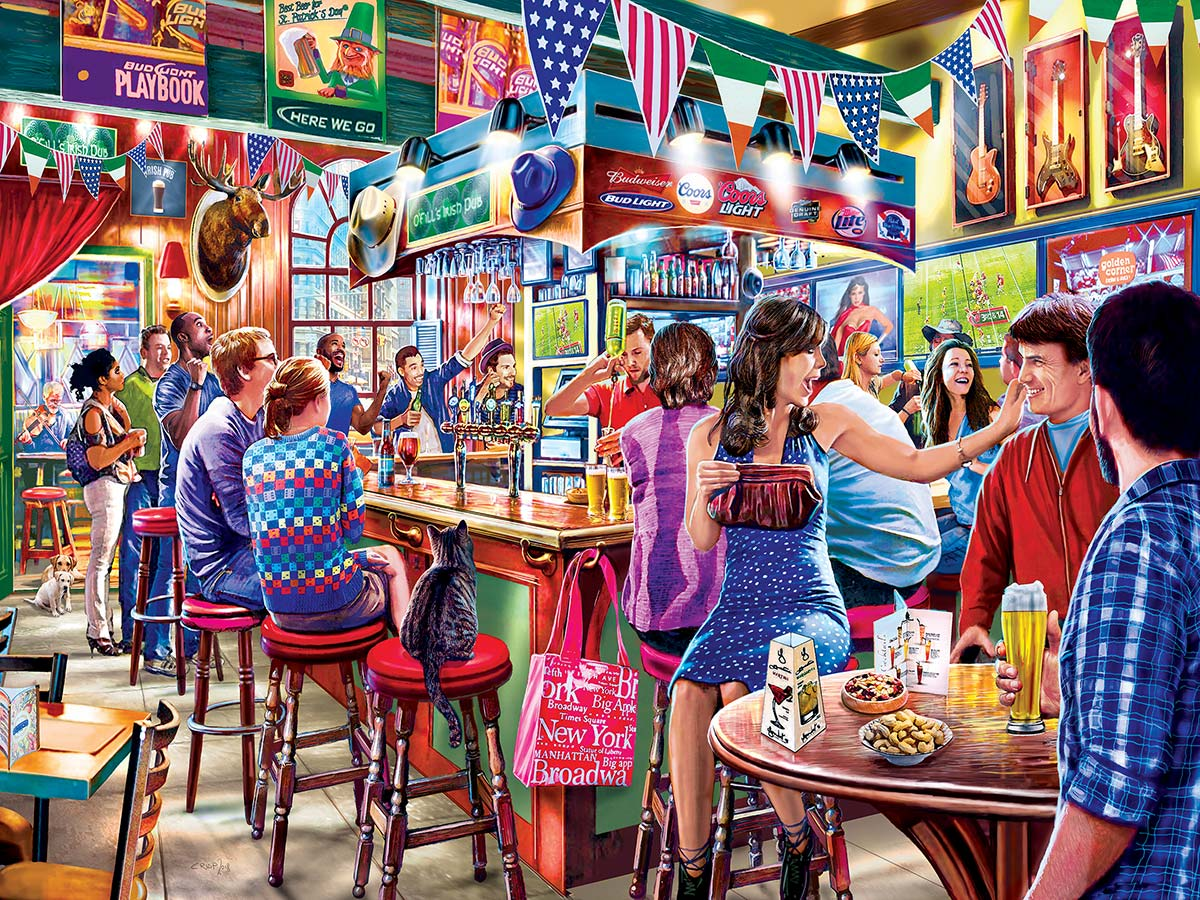 Duffy's Sports & Suds Food and Drink Jigsaw Puzzle