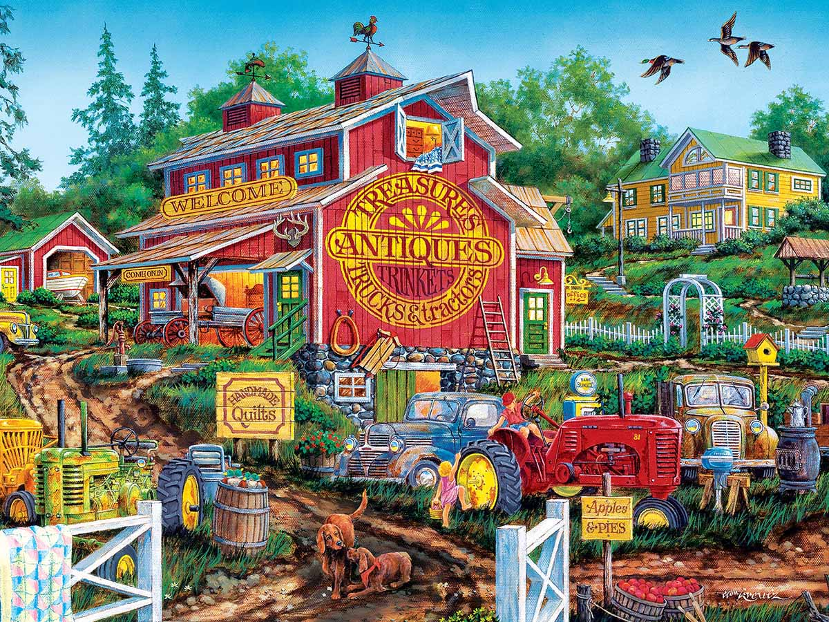 Antique Barn Jigsaw Puzzle