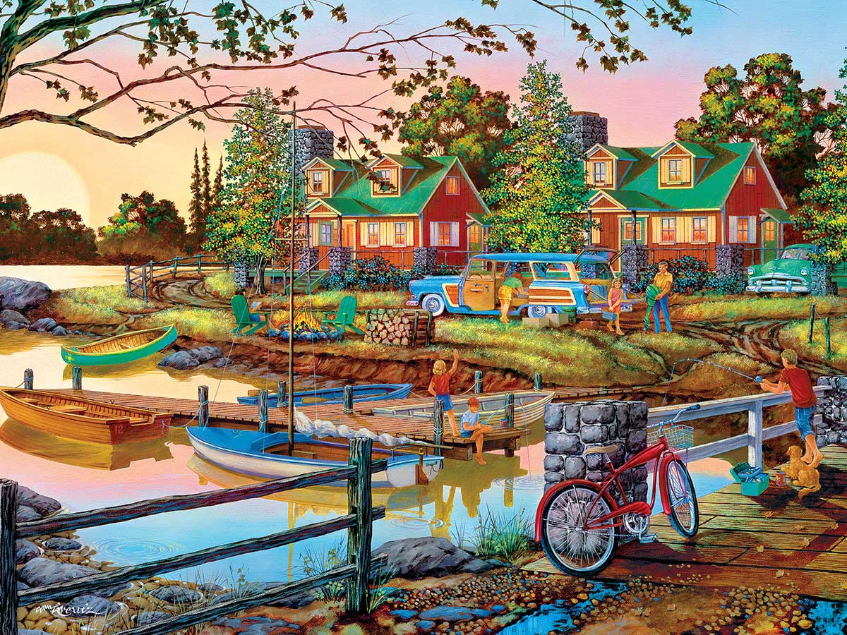 Away From it All Landscape Jigsaw Puzzle