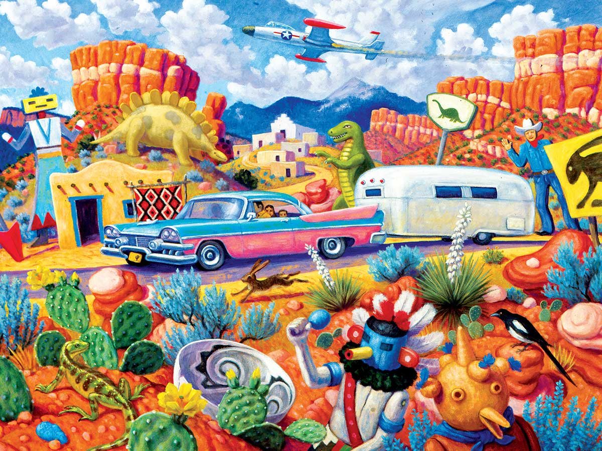 Off the Beaten Path Travel Jigsaw Puzzle