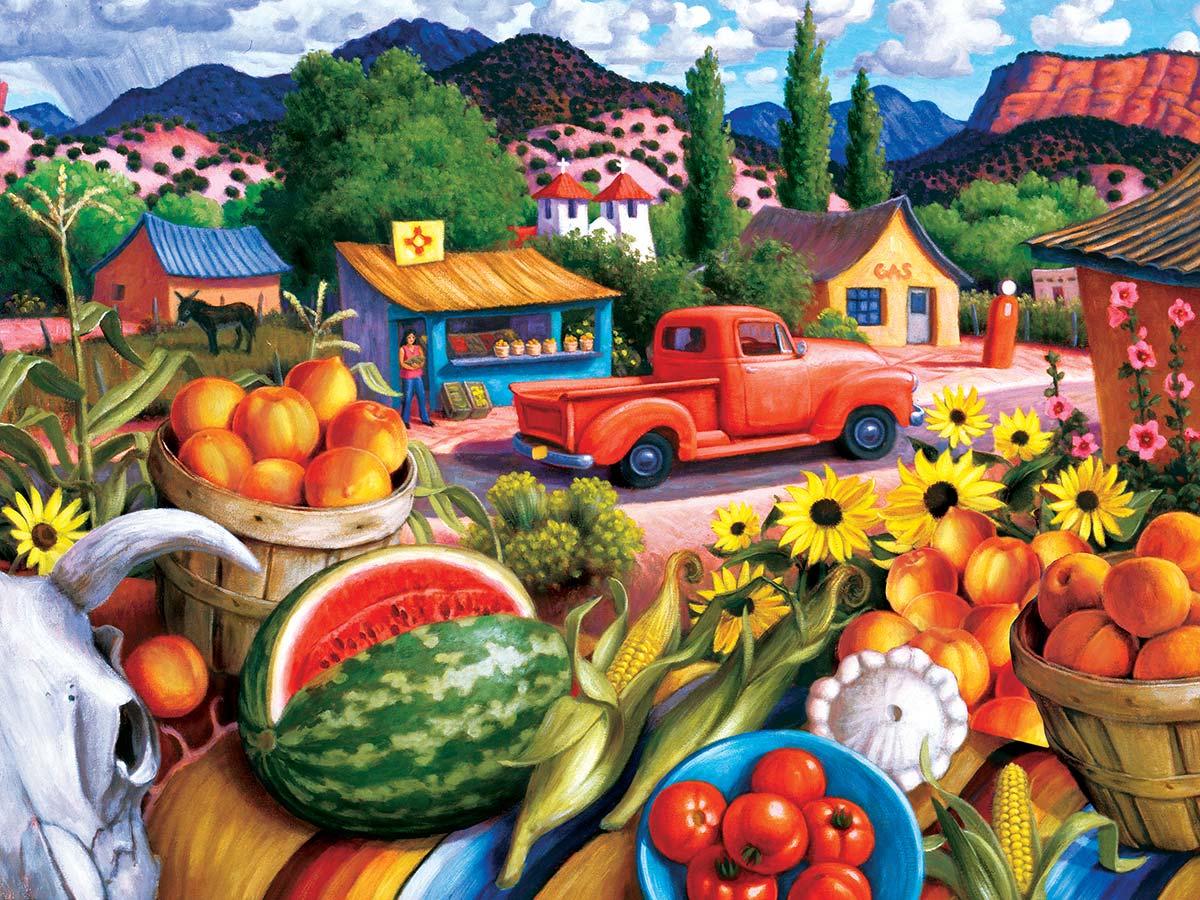 Summer Fresh Travel Jigsaw Puzzle