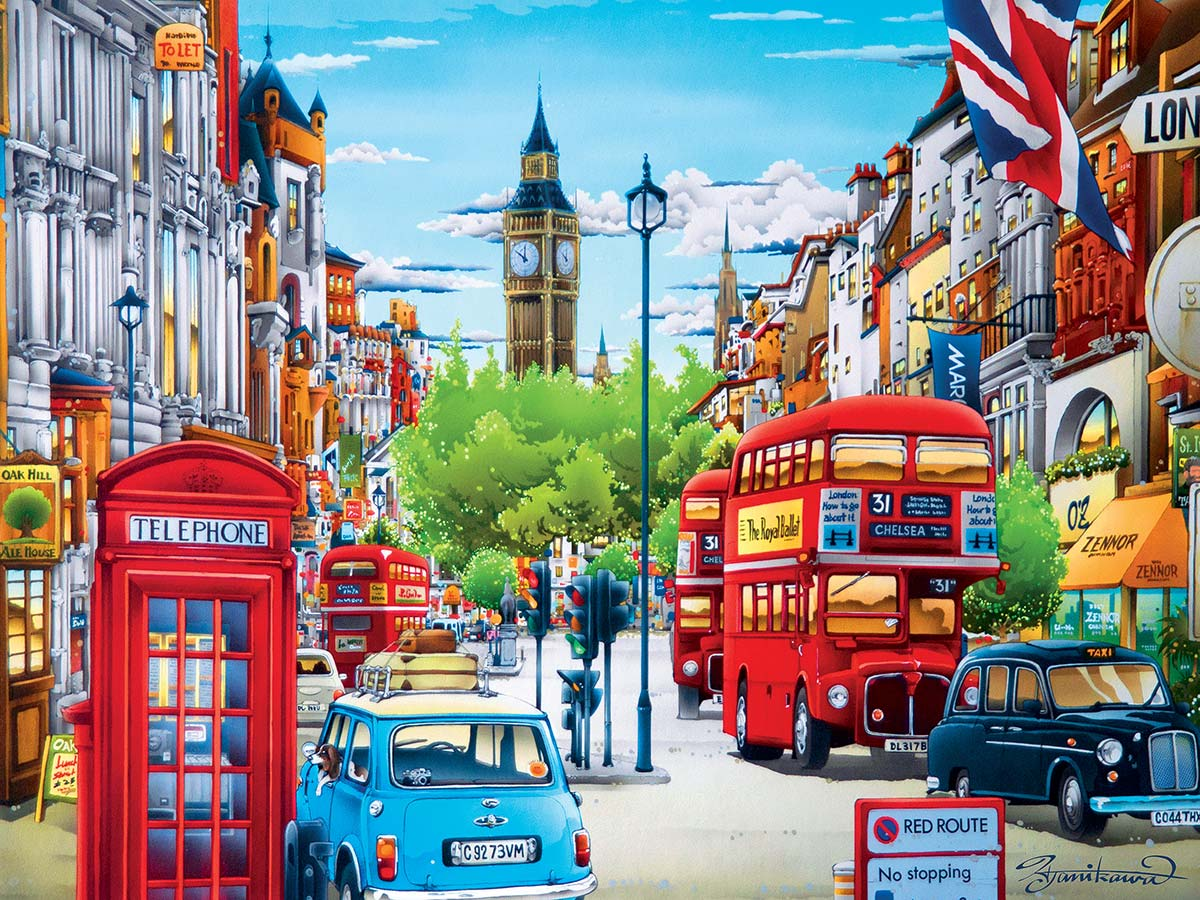 London - Scratch and Dent Travel Jigsaw Puzzle