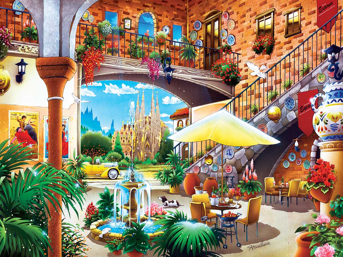Barcelona Travel Jigsaw Puzzle