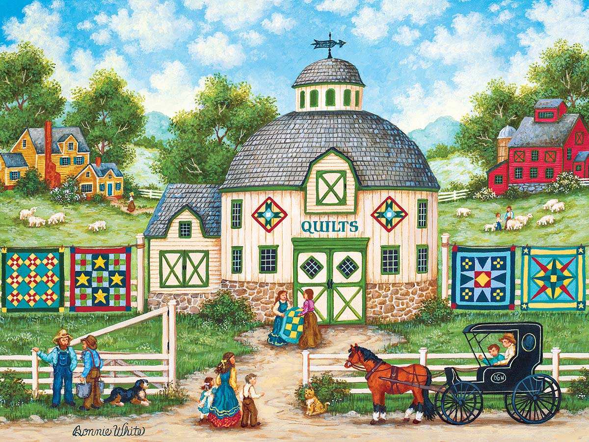 The Quilt Barn Crafts & Textile Arts Jigsaw Puzzle