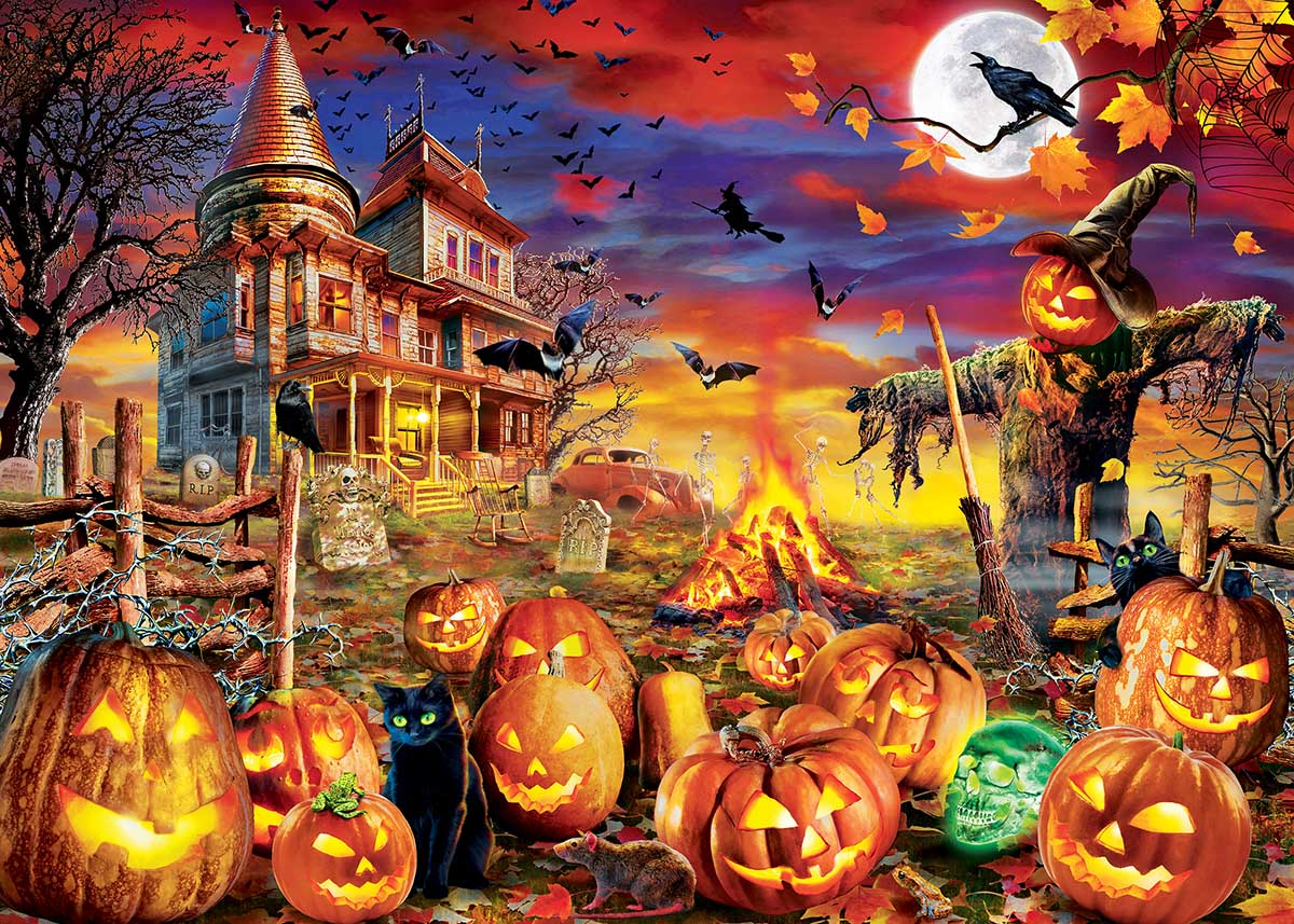 All Hallow's Eve Halloween Glow in the Dark Puzzle