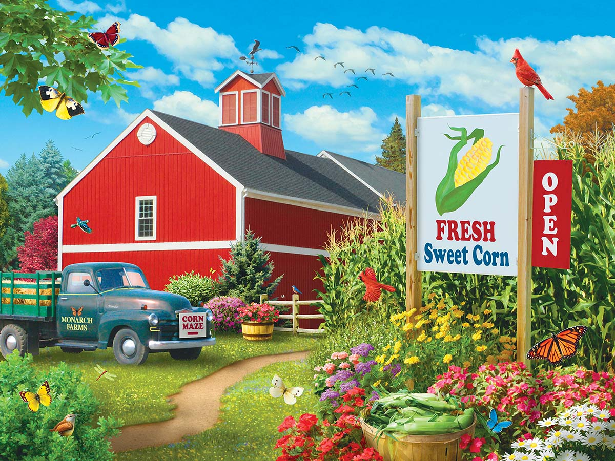 Country Heaven Farm Jigsaw Puzzle