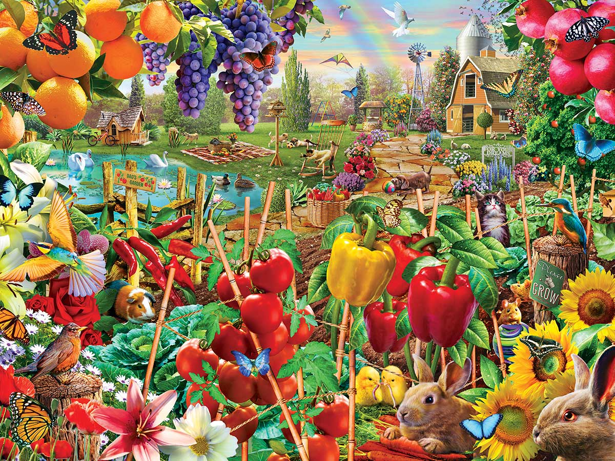 A Plentiful Season Animals Jigsaw Puzzle